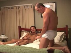 Hot bareback fucking with a sexy amateur gay guy