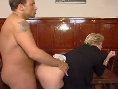 70 Yr Old Lady Enjoy Young Cock