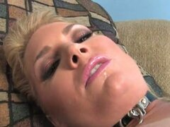 Flower Tucci sucks and fucks big black cock