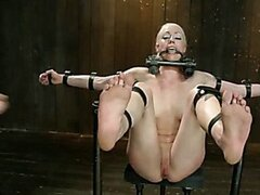 Lorelei Lee is Bent in Unforgiving Device Bondage