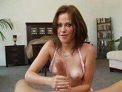 Sindee Jennings gives a mind blowing handjob