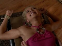 Tickling-Submission - Tied toes tickled and barefeet (2013) Jenni