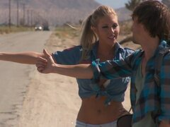 Camping trip hardcore with Samantha Saint