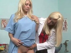 Lesbian Doctor Jessica Lynn Fucking Her Patient Jazy Berlin With Toys