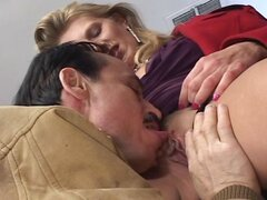 Horny housewife trades head and then stick her ass out to get nailed