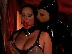Mistress Jean Having Fun with Latex Babe