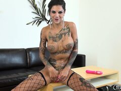 Bonnie Rotten has got a lot of tats and the sexiest tight ass ever!
