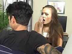 Baby Sitting a Big Cock Sucker With Nika Noire