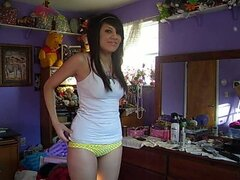 Teen Strips on Cam