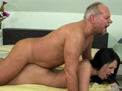 Gorgeous Teen With Great Butt Fucked by Older Dude