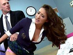 Spectacular School Girl Lizz Tyler Fucked by the Teacher's Big Cock