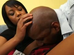 Hot ebony madison licked