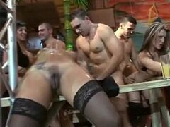 A kinky sex party in a mad club gets out of control with everyone getting in on the action
