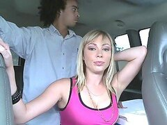Bang Bus Threesome With The Slutty Adrianna