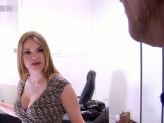 Tatiana Kush gets pounded by the tax collector!