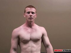 Red-haired Spencer Todd enriches the atmosphere of splendid masturbation