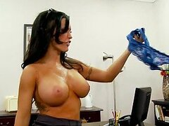 Make The Busty Boss Jenna Presley Squirt Or She'll Fire You