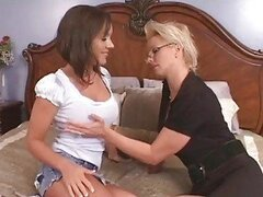 Hot Mature Seduces Coed With Hubby