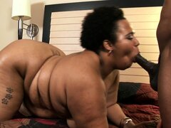 Kitten is a chubby ebony lady with a huge round ass...