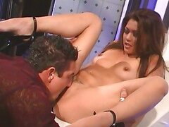 Sumptuous Charmane Star bounces her cunt on a hard dick