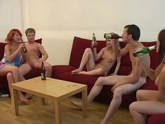 College House Party Ends Up Being A Sex Session