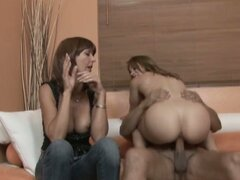 Desi fox and kirra lynne play mom and daughter