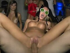 Costume Party Turns Into an Orgy With Umbelievably Hot Babes