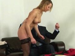 Spanked for being stupid