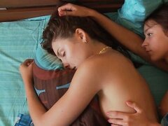 Natasha Shy undressing and fucking her lesbian girlfriend