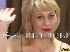 An older blonde beauty tries some younger meat and likes how it gapes her