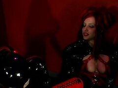 Kinky Lesbian Action with Rubber Mistress Anastasia Pierce