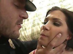 Latina Rebeca Linares Won't Be Resisting This Anal Arrest