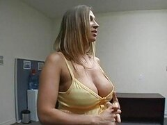 Amazing gorgeous cock addicted busty milfs seeing a huge cock