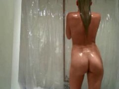 Amazing blonde...cam in the shower