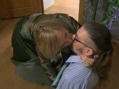 Susanna & jerome mature pantyhose fun!