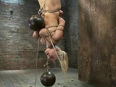 Heavily Tortured Blondes Scream For Mercy In BDSM Vid