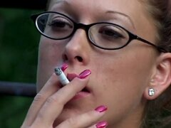 Smoking fetish Rochelle 2 #by Smoker58
