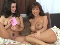 Curious chick Roxanne Milana wants to play with her brave bimbo