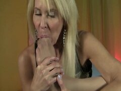 Hot Mature Pantyhose Footjob