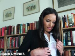 Mofos- Nataly, can make a library sexy