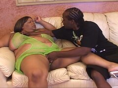 Black bbw gets drilled by huge dons