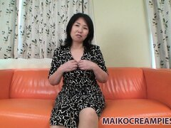 Chubby asian housewife gets nasty and bares it all on camera