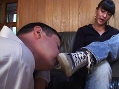 Foot Cleaning Slave