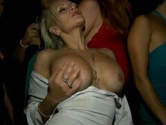 Eating A Hot Babes Wet Pussy Out In VIP