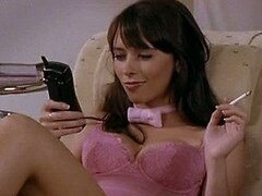 World's Hottest Brunette Jennifer Love Hewitt In Tight Pink Lingerie
