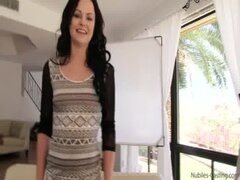 Nubiles Casting - Squirting teen pussy filled with jizz