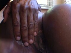 Extremely hot and plump black chick Ms Cleo gives a solid blowjob