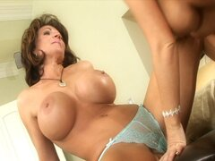 Sexy milf neighbors can't wait for hubbys