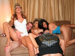 What started out as a family gathering with in laws ends up being a raunchy orgy