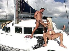 Awesome Threesome with Boroka Balls Aboard/Boroka Balls. Part 2